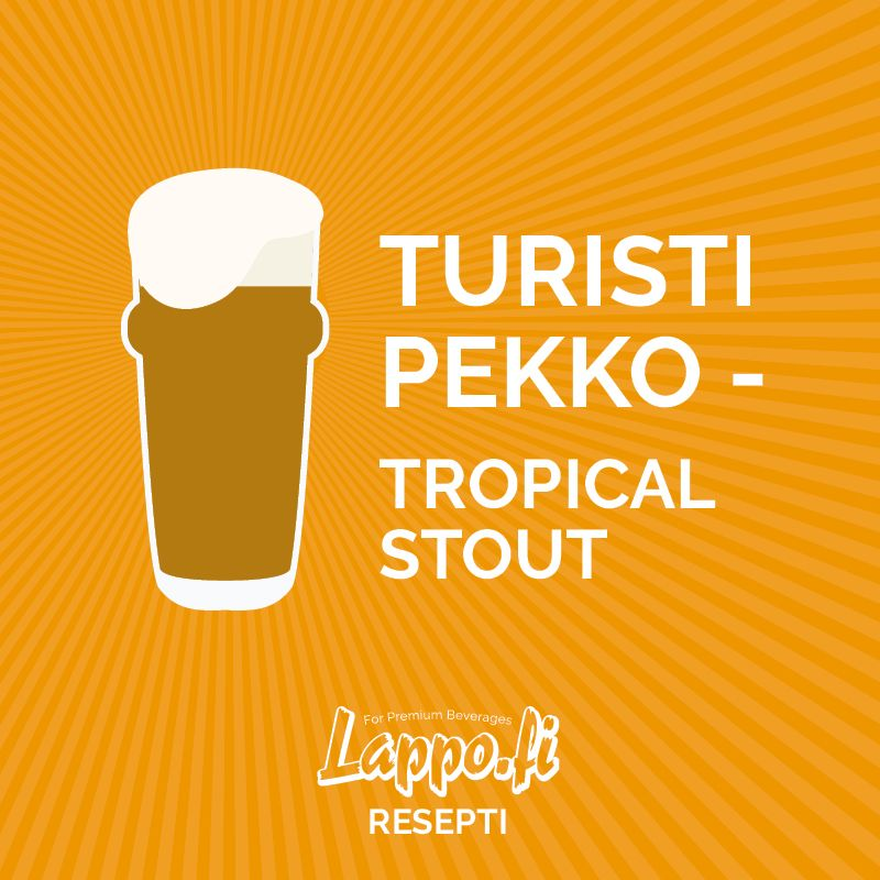 Turisti Pekko – Tropical Stout