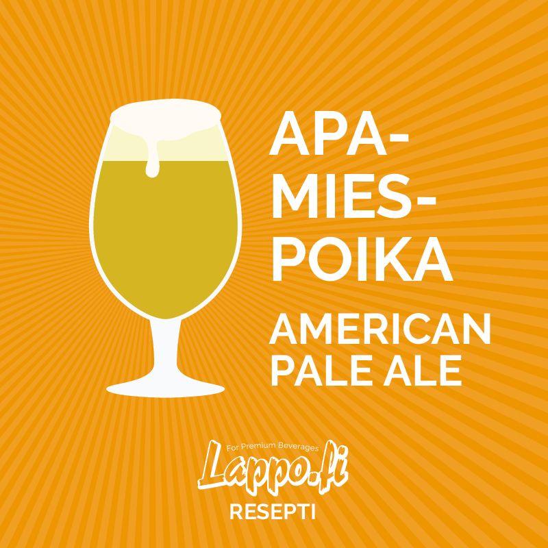 Apamiespoika – American Pale Ale -resepti
