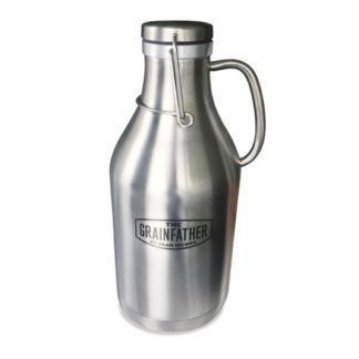 Grainfather Stainless Steel Swing Top Growler - 2 ltr