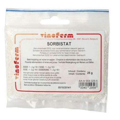 Kaliumsorbaatti Vinoferm Sorbistat 25 g