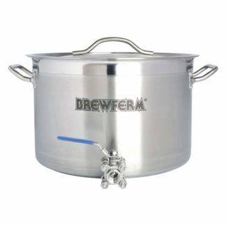 Keittokattila ruostumatonta terästä hanalla 20 l