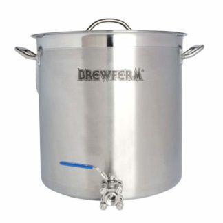 Keittokattila ruostumatonta terästä hanalla 35 l