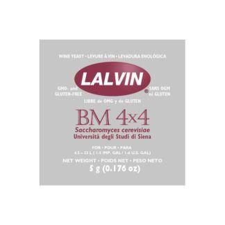Kuivattu viinihiiva Lalvin BM 4x4