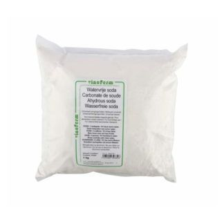 Natriumkarbonaattijauhe rasvanpoistaja ja puhdistusaine