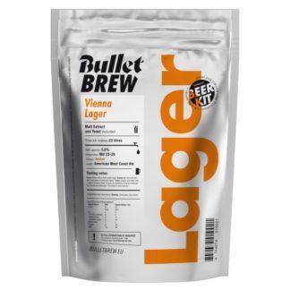 Olutuute Vienna Lager Bullet Brew 2,5 kg