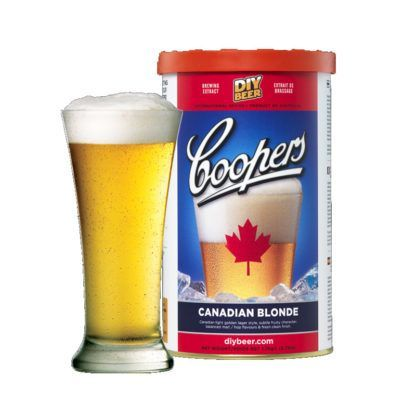 Olutuute Coopers Canadian Blonde