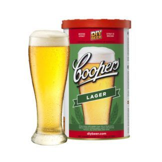 Olutuute Coopers Lager