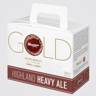 Olutuute Muntons Gold Highland Heavy Ale 3kg