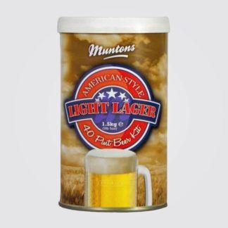 Olutuute Muntons American Light Lager 1,5kg