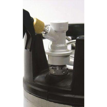 Keg Charger Brewferm + CO2 patruuna