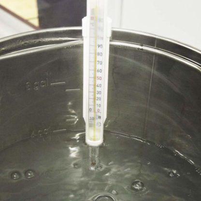 Lämpömittari mäskäykseen suojakuorella -10 - +120 C