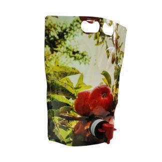 Bag in Box -hanapakkaus itseseisova 3 l - omenakuvio