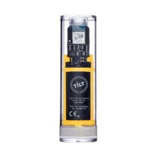 Hydrometri ja lämpömittari Tilt keltainen