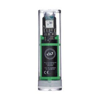 Hydrometri ja lämpömittari Tilt vihreä