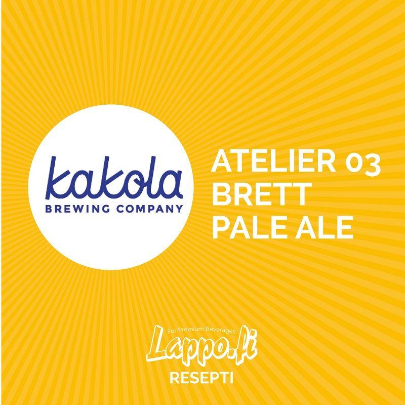 #7 Kakola Brewing Company – Atelier 03 Brett Pale Ale