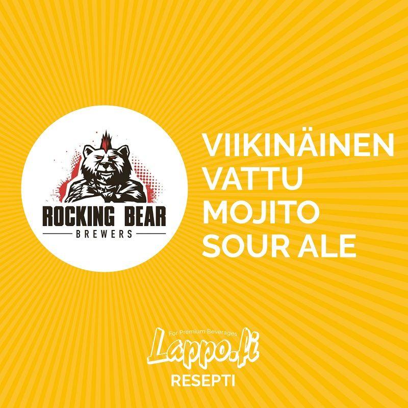 #2 Rocking Bear – Viikinäinen Vattu Mojito Sour